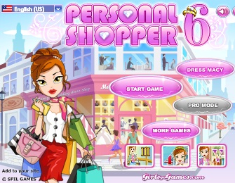 Play Personal Shopper 6 Game
