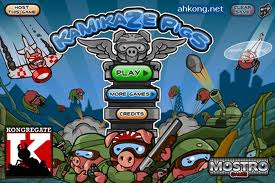 Play Kamikaze Pigs Game