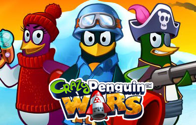 Play Crazy Penguin Wars Game