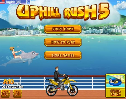 Play Uphill Rush 5 Game