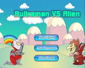 Play Aultraman vs Alien Game