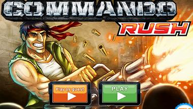 Play Commando: Rush Game