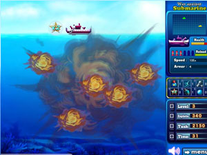 Play War against Submarine Game