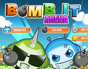 Play Bomb It Arena Game