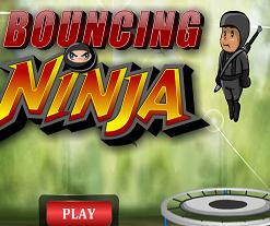 Play Bouncing Ninja Game
