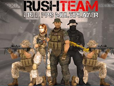 Play Rush Team Free FPS Multiplayer Game