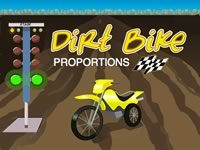 Play Dirt Bike Proportions Game
