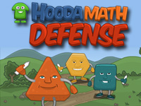 Play Hooda Math Defense Game