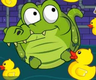Play Crocodile Love Duck Game