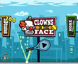 Play Clowns in the Face Game