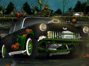 Play Halloween Graveyard Racing Game