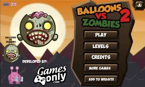 Play Balloons vs Zombies 2 Game