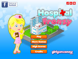 Play Hospital Frenzy Game