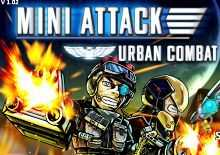 Play Mini Attack Urban Combat Game