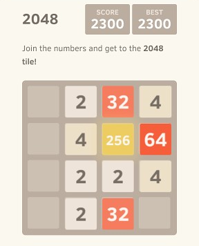Play 2048 Game