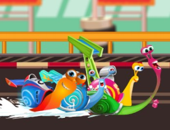 Play Snail Racing Game