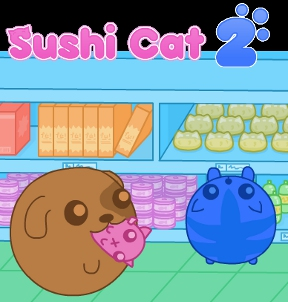 Play Sushi Cat 2 Game