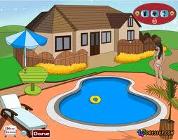Play Swimming Pool Decoration Game