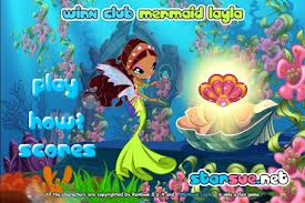 Play Winx Club Mermaid Layla Game
