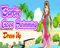 Play Barbie Goes Swimming Game