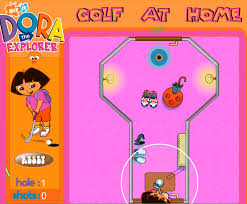 Play Dora Golf at Home Game
