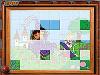 Play Sort my tiles dora the queen Game