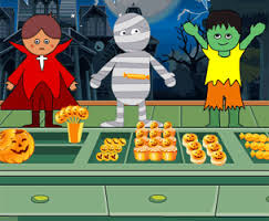 Play Halloween Candy Shop Game