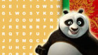 Play Kung fu panda word search Game