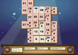 Play Mahjong Math Game