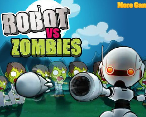 Play Robot vs zombies Game