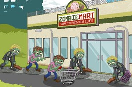 Play Zombie mart Game