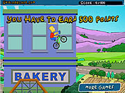 Play The simpsons bmx game Game