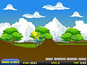 Play Bart simpson bicycle game Game