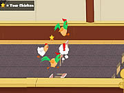 Play Chicken jockey 2 clucktible card racers Game