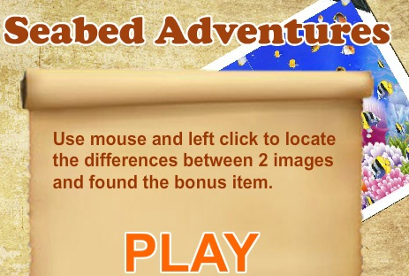Play Seabed adventures Game