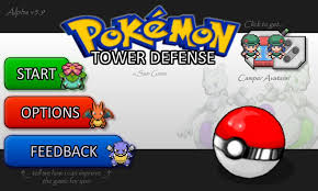 Play Pokemon tower defense Game