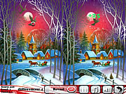 Play New year s night 5 differences Game