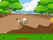 Play Ben10 bicycle Game