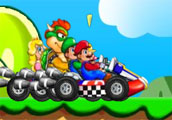Play New super mario racing Game