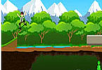 Play Ben10 skateboard Game