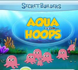Play Secretbuilders aqua hoops Game