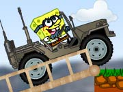 Play Spongebob dangerous jeep Game