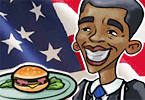 Play Obama burgers Game