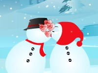 Play Snow kiss fun Game
