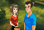 Play Kissing in the woods Game