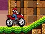 Play Mario atv in sonic land Game
