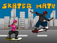 Play Skater math Game