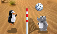 Play Zoo volley Game