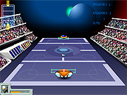 Play Galactic tennis Game
