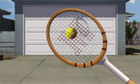 Play Garage door tennis Game